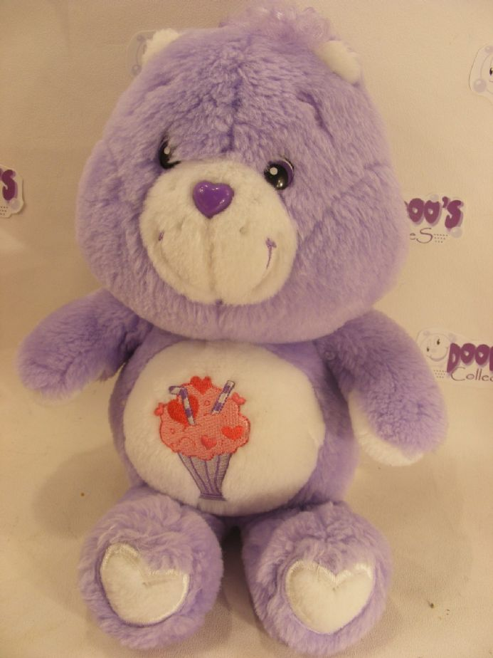 "MODERN 20th  ANNIVERSARY 12"" SHARE CAREBEAR CARE BEARS"